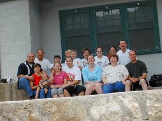 Family time at FoxFire Farmhouse