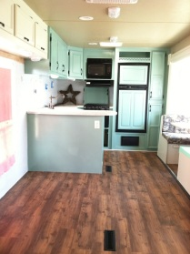 New flooring installed with help of a GREAT friend!