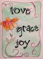 Love-Grace-Joy greeting card