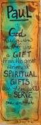 Spiritual Gifts bookmark