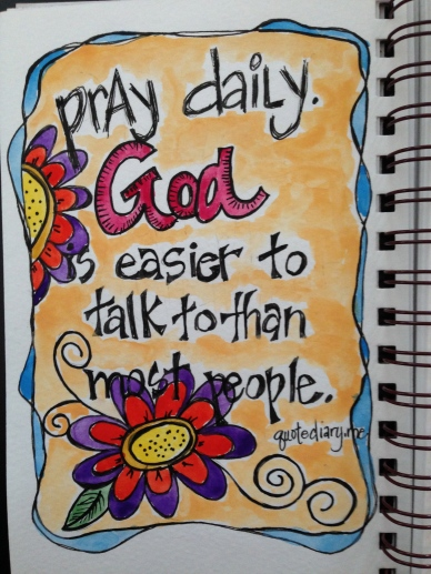 Pray Daily Gratitude Art