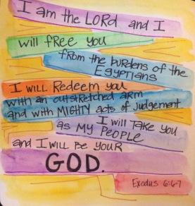 Exodus 6:6-7