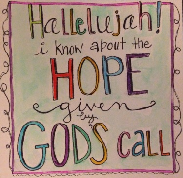 Hope given by God's call
