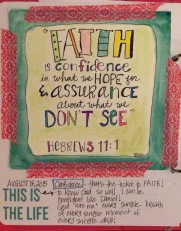 Faith - Hebrews 11:1