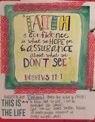Faith - Hebrews 11:1
