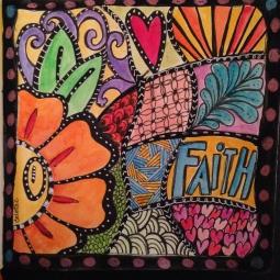 Faith Doodle Art